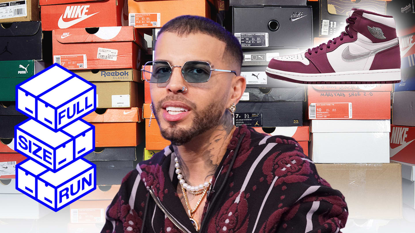 Rauw Alejandro Explains How Hard It Was to Get Air Jordans in Puerto Rico | Full Size Run