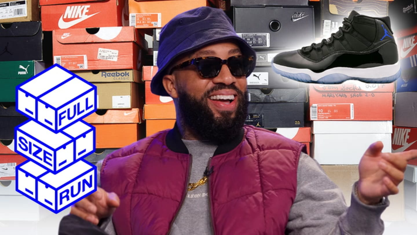 Larry June Relives the Pain and Joy of Getting Air Jordans | Full Size Run