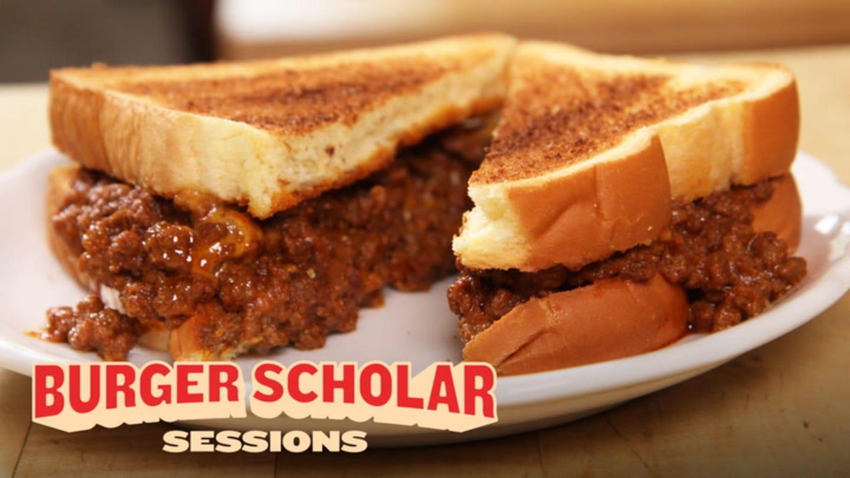 How to Make a Sloppy Joe Cheeseburger   Burger Scholar Sessions