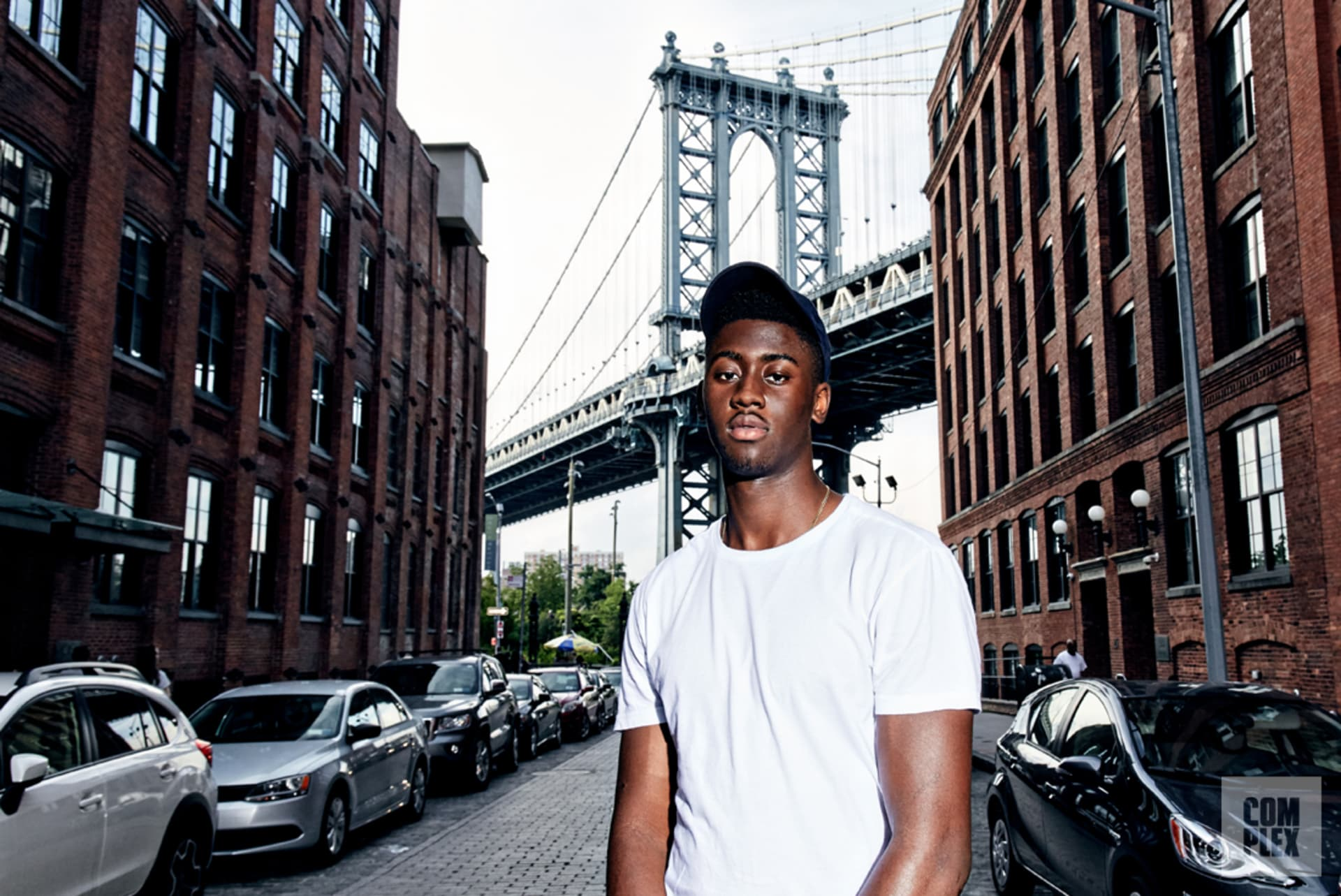 Caris LeVert Manhattan Bridge 2016
