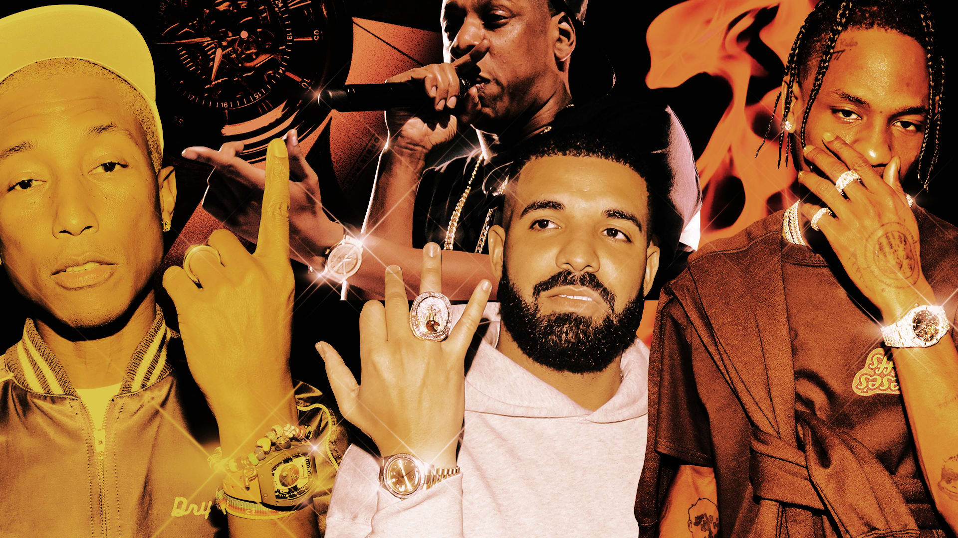 iconic hip hop watches