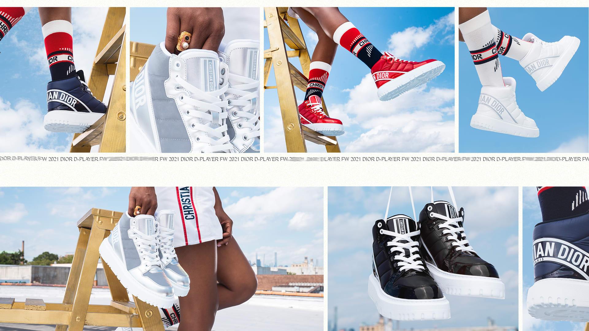 Dior DPlayer Sneakers Colorways