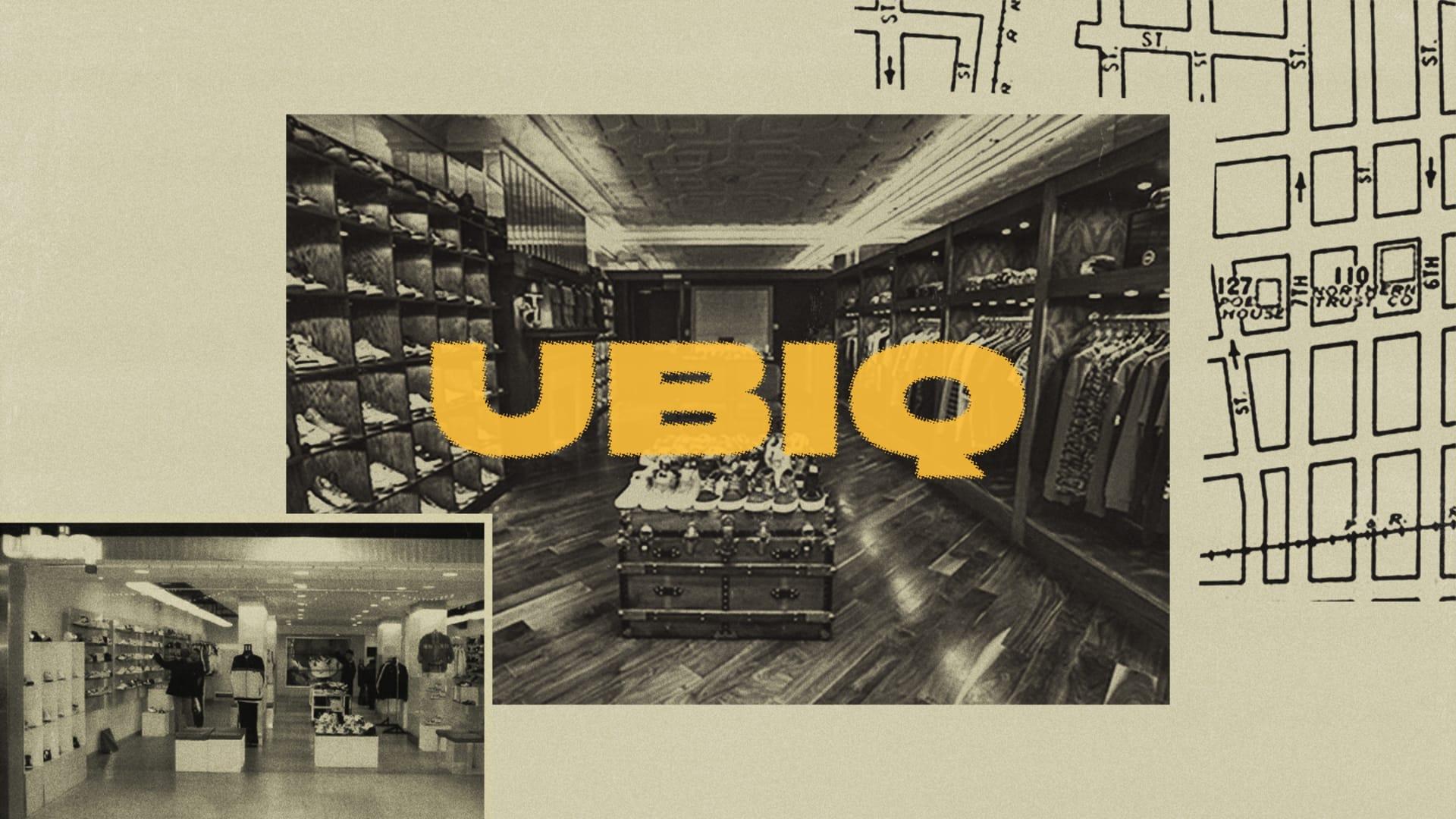 Pioneering Streetwear Stores 'Ubiq'