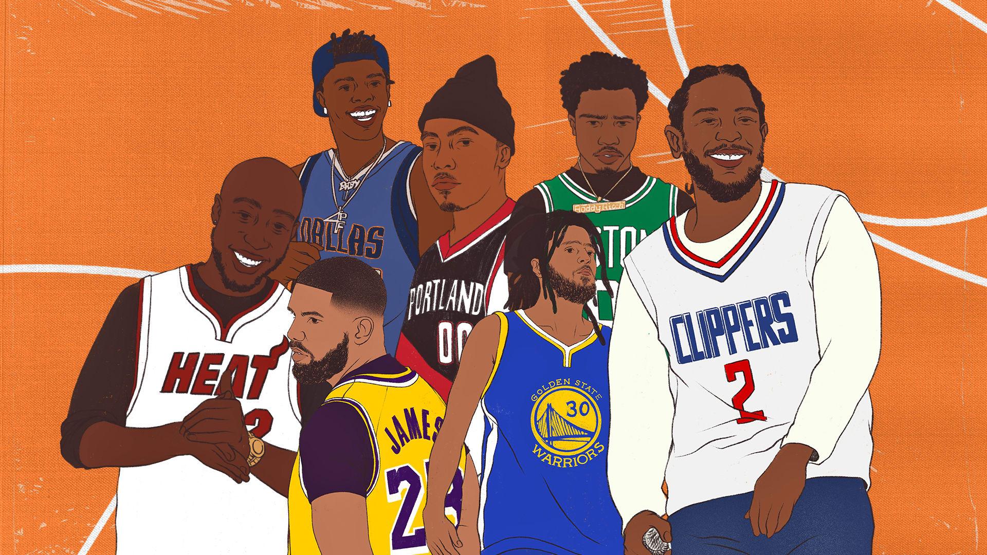 NBA Rapper Equivalent