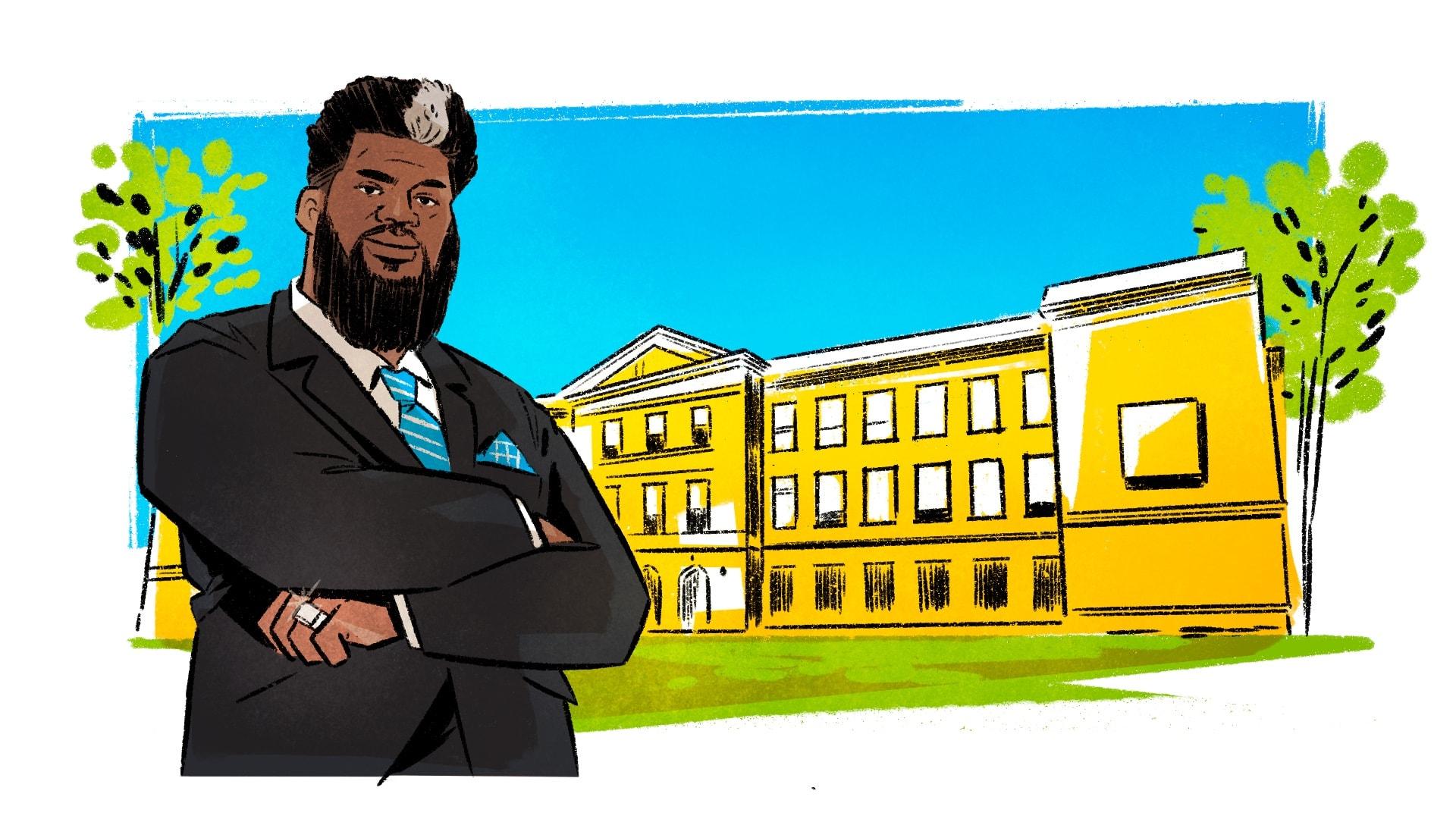 Akbar H. Cook West Side High
