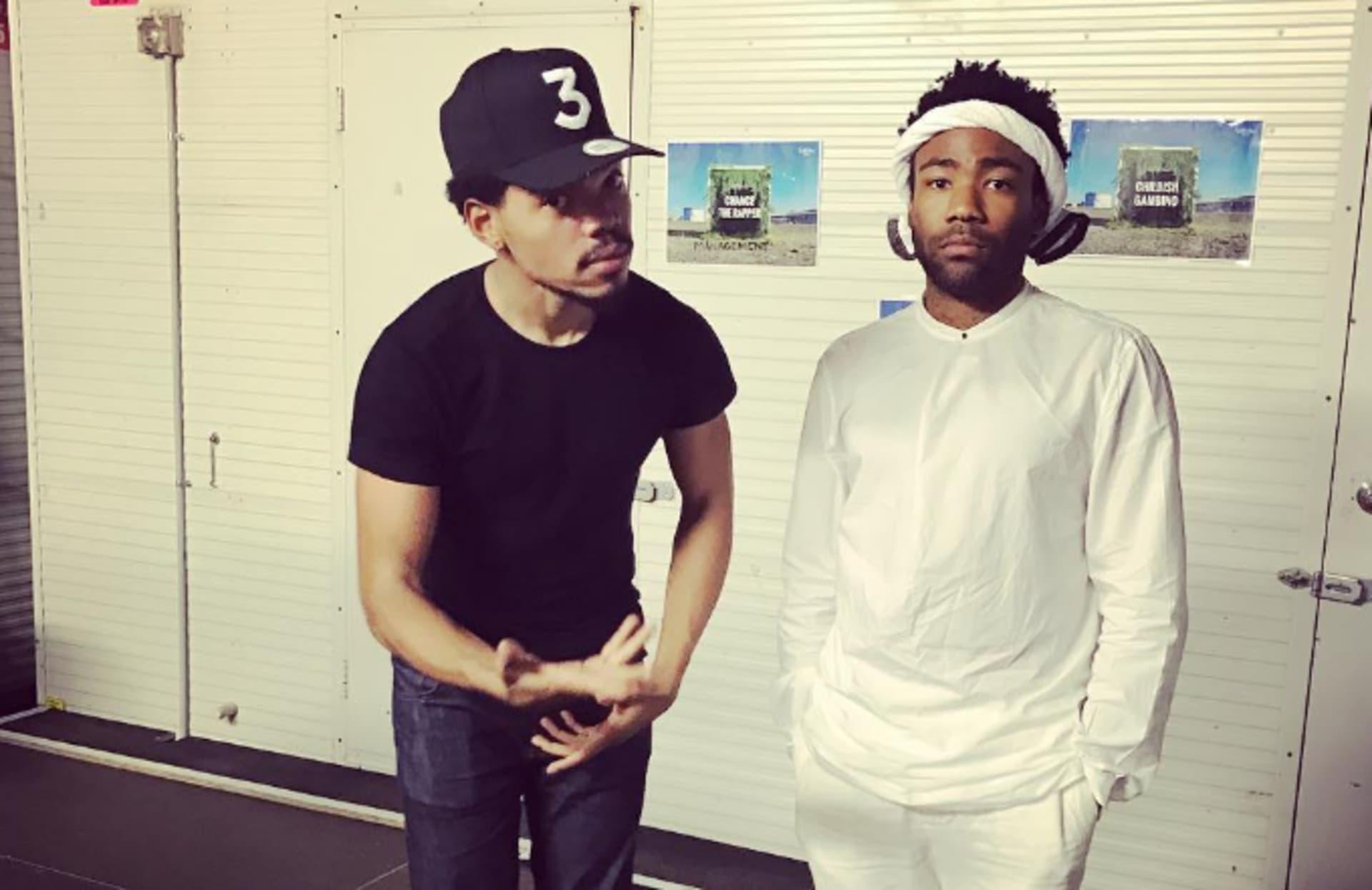 Chance the Rapper and Childish Gambino