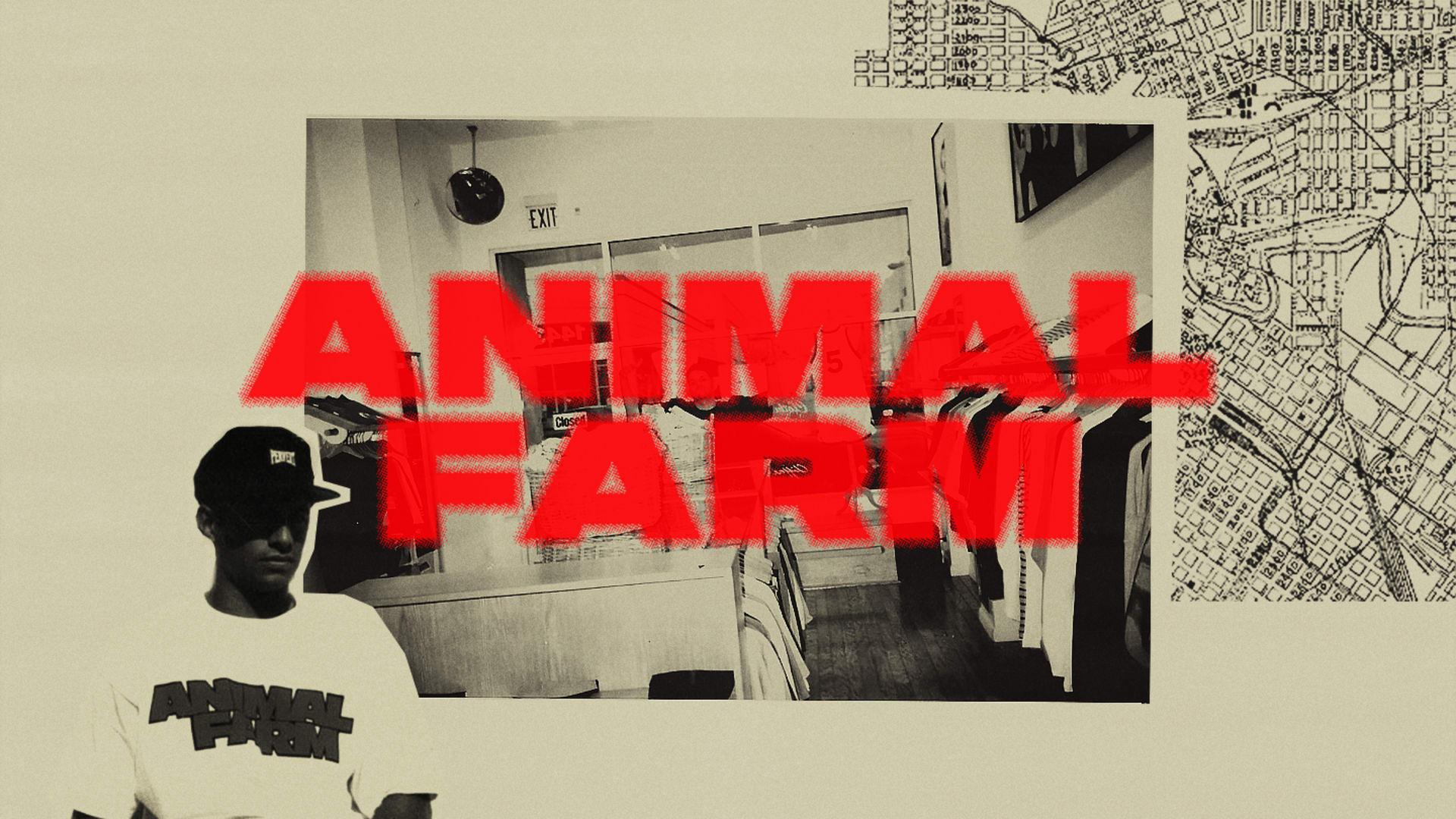 Pioneering Streetwear Stores 'Animal Farm'