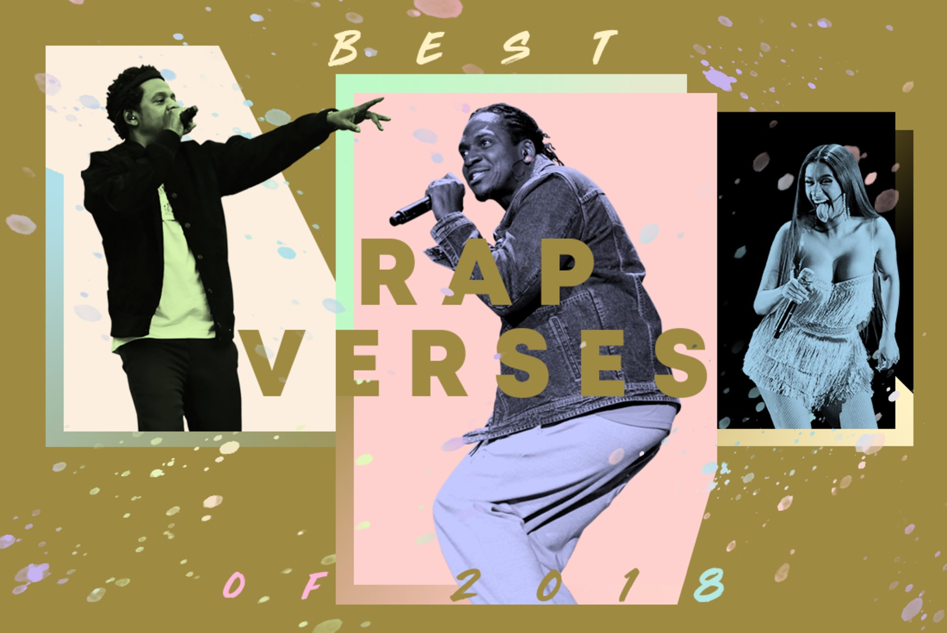 Complex's picks for the best rap verses of 2018.