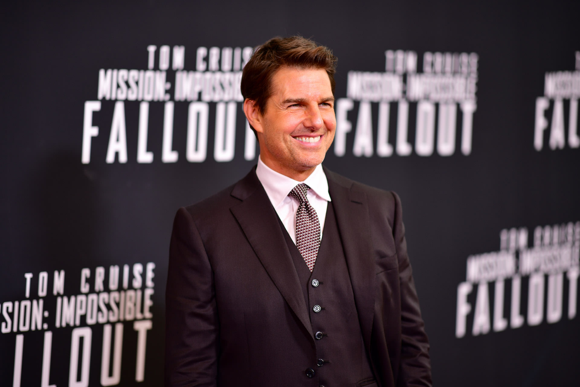Tom Cruise attends the 'Mission: Impossible   Fallout' U.S. Premiere.