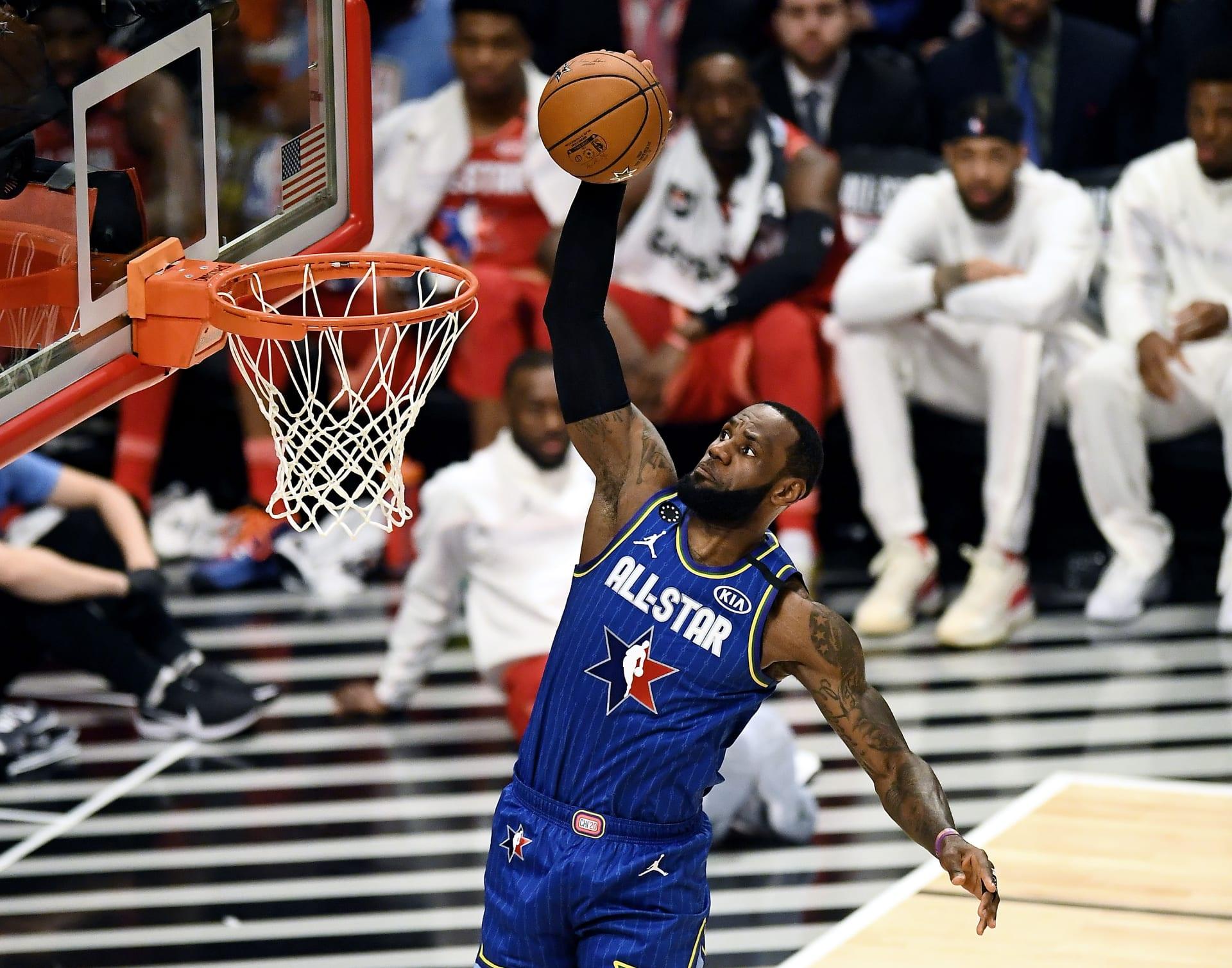 LeBron James NBA All-Star Game 2020