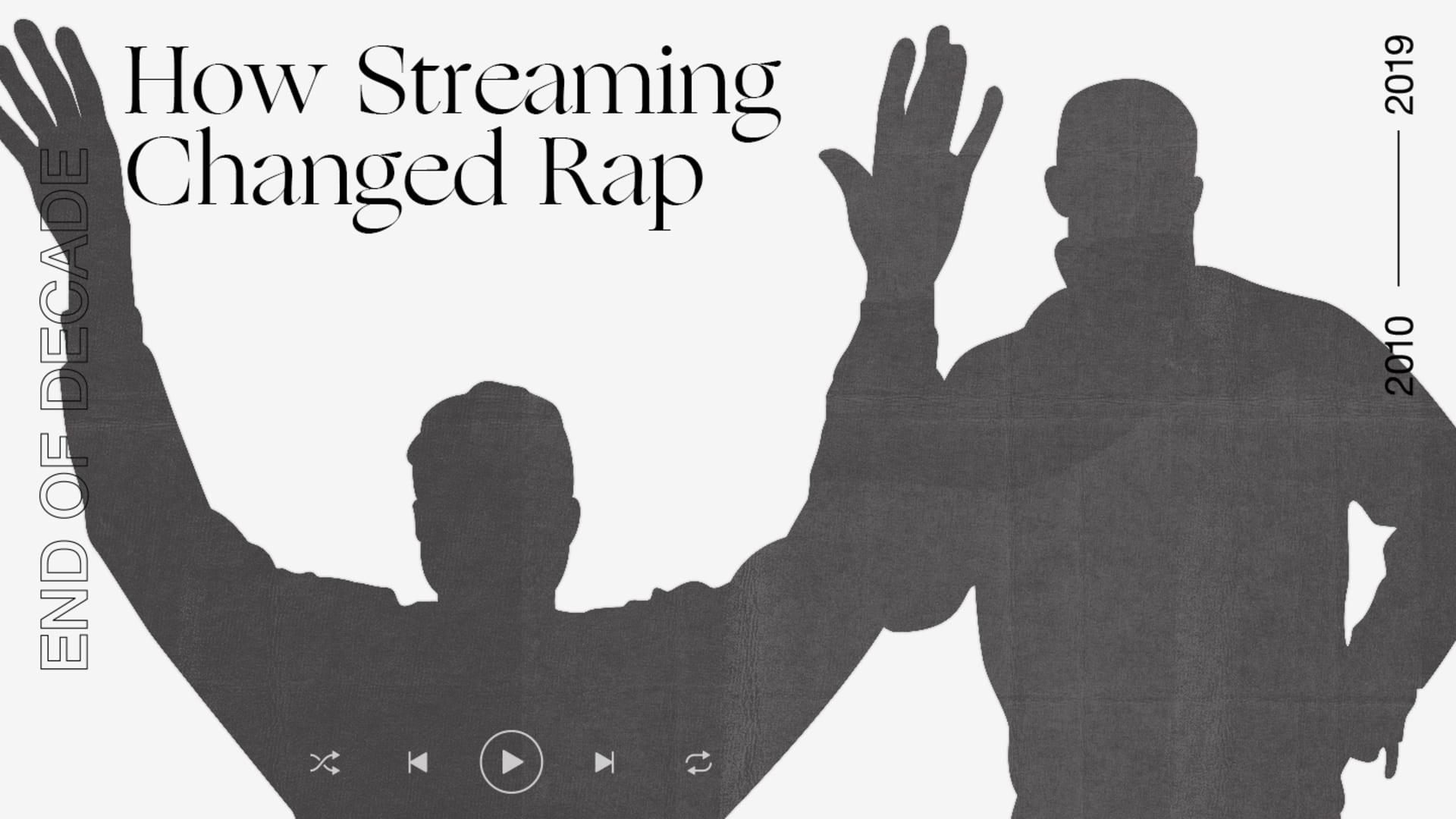 How Streaming Changed Rap in the 2010s