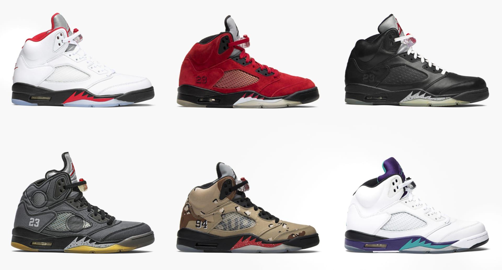 Air Jordan 5 Collection