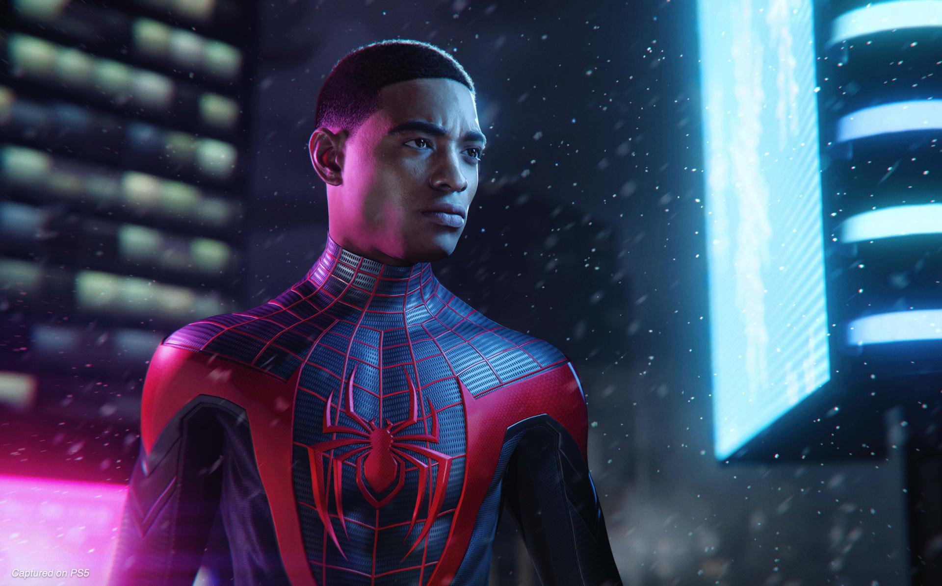 miles morales spiderman game