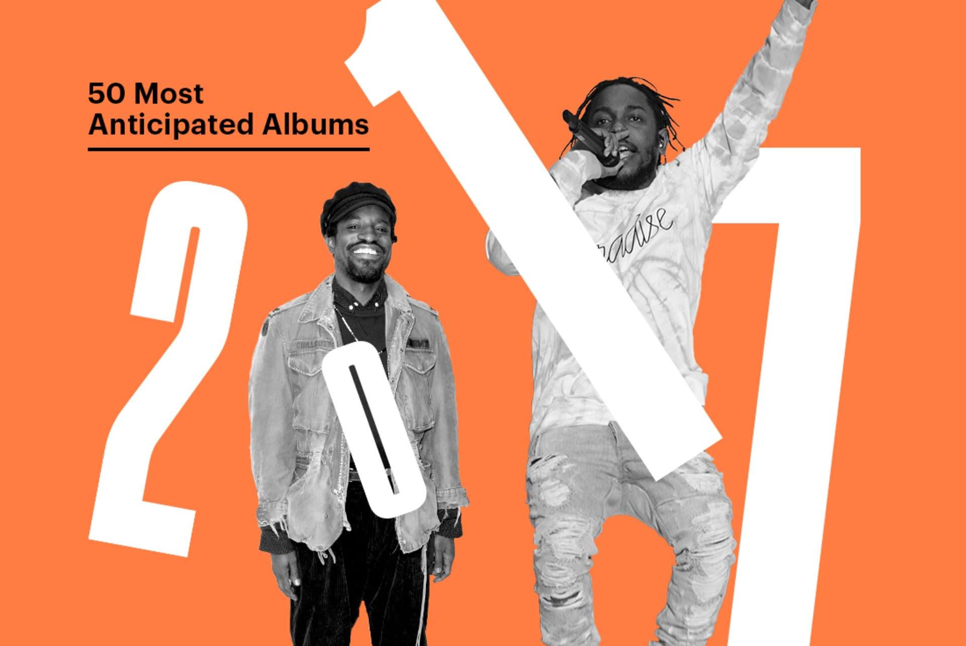 most anticipated albums of 2017