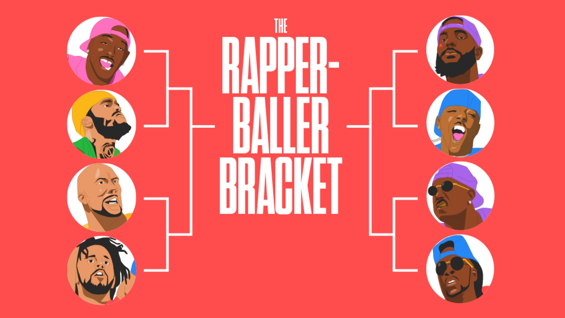 Rapper Baller Bracket Elite 8 Lead Image