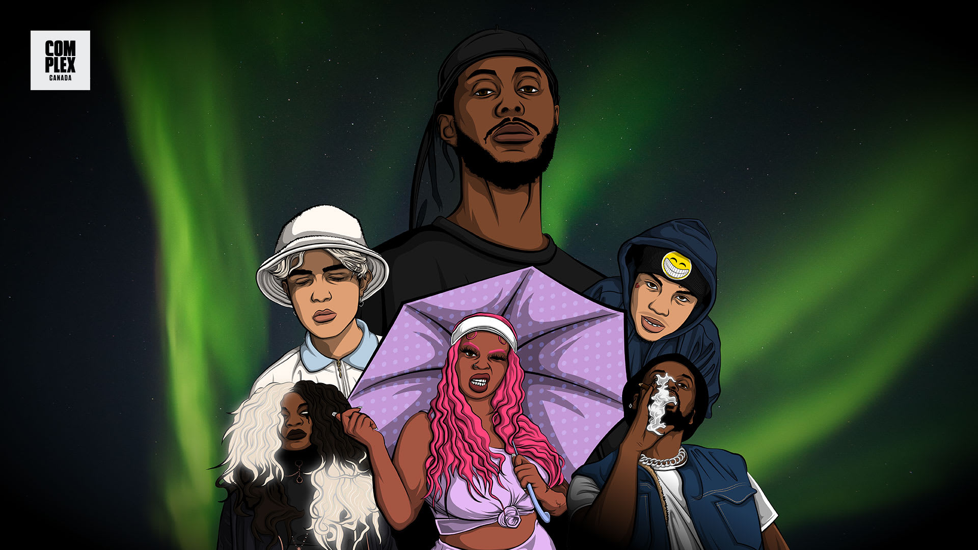 25 canadian artists to watch out for mustafa smiley charmaine emanuel curtis waters backxwash
