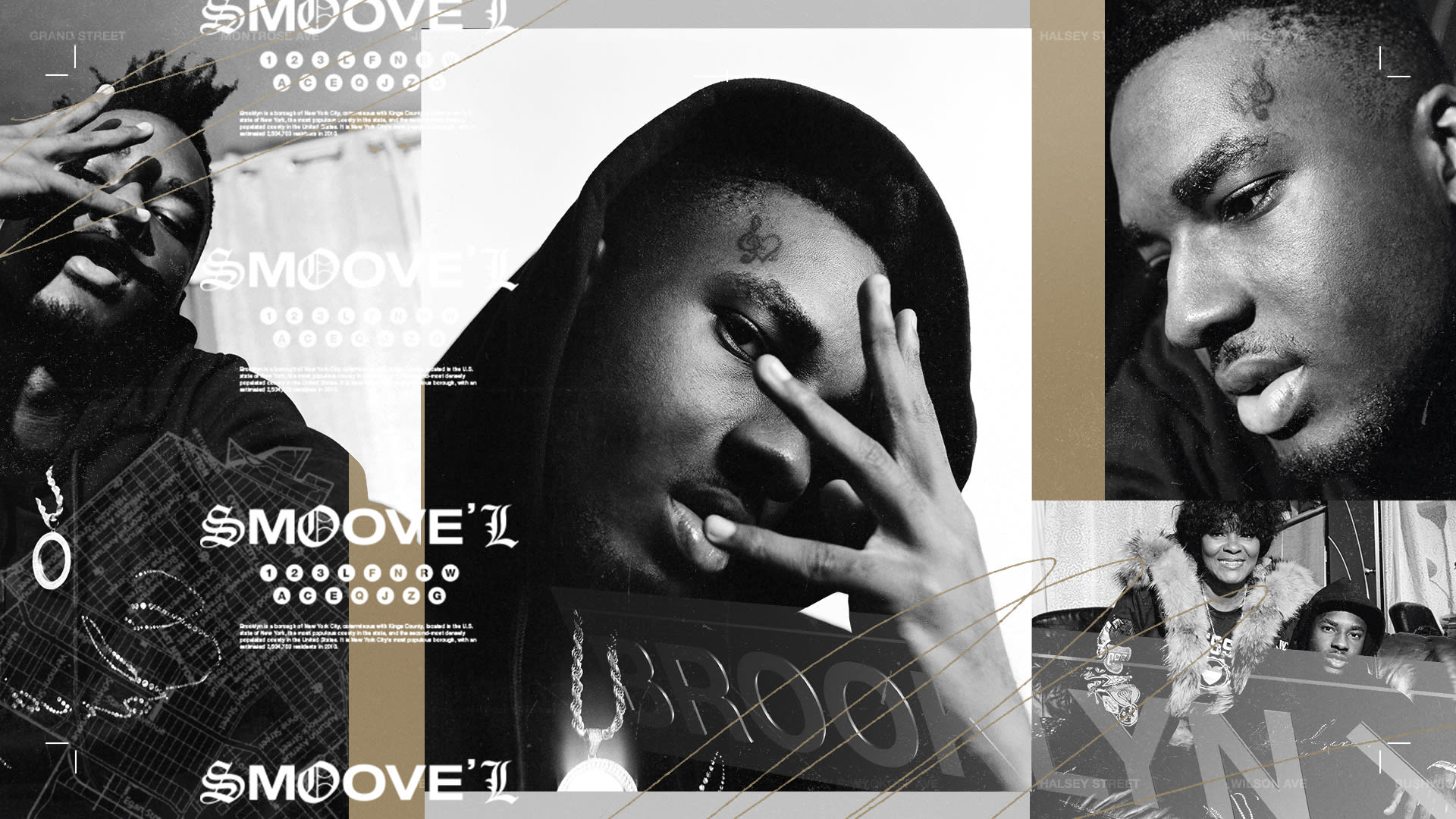 Smoove'L poses for his Complex interview