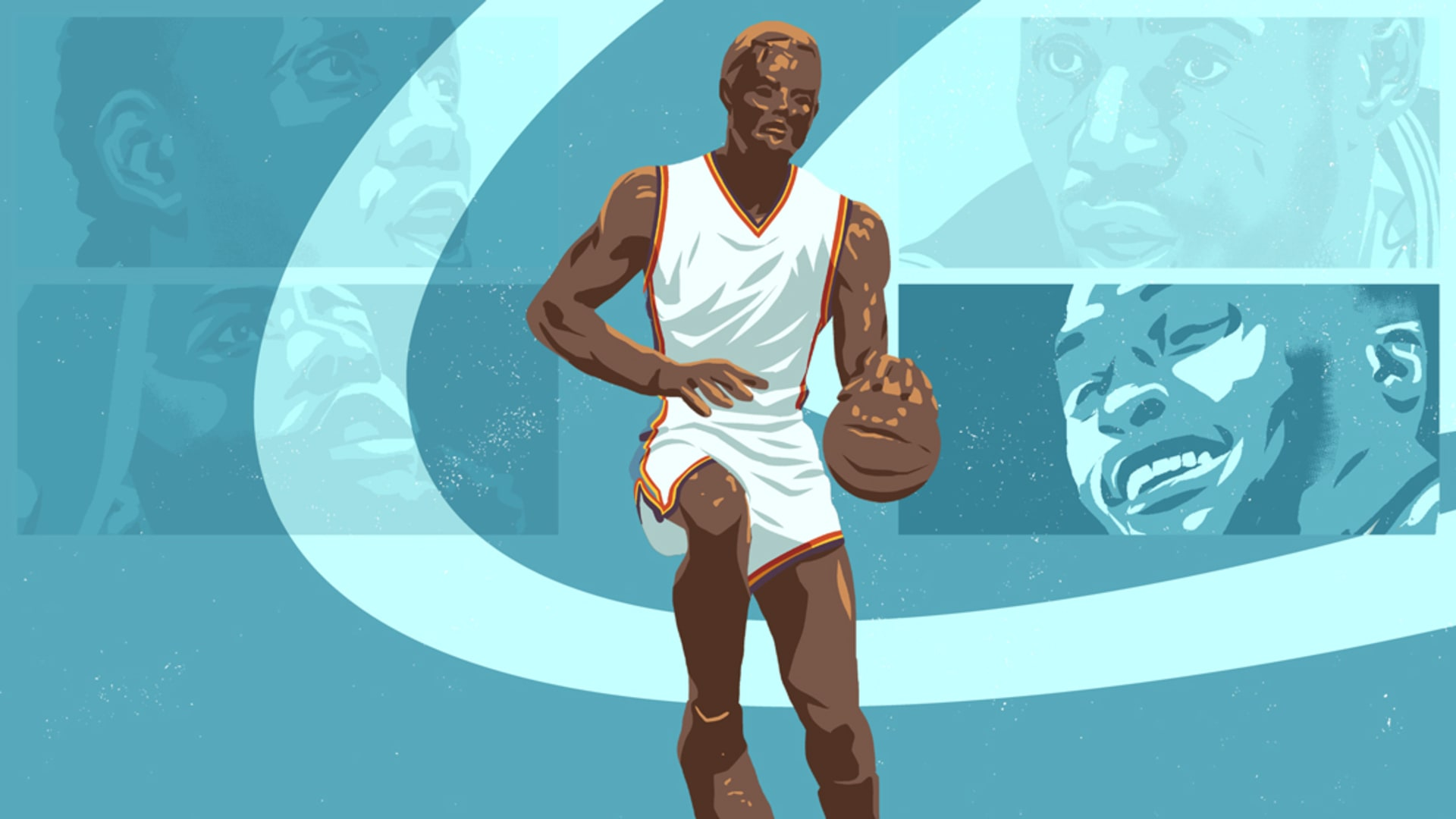 NBA MVP Race Longcroft Illustration 2017