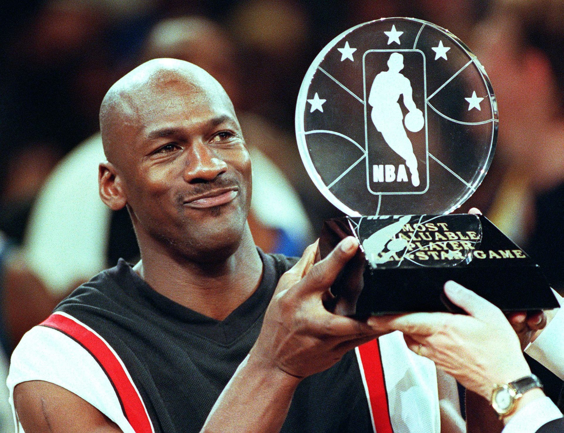 Michael Jordan MVP MSG 1998 Getty