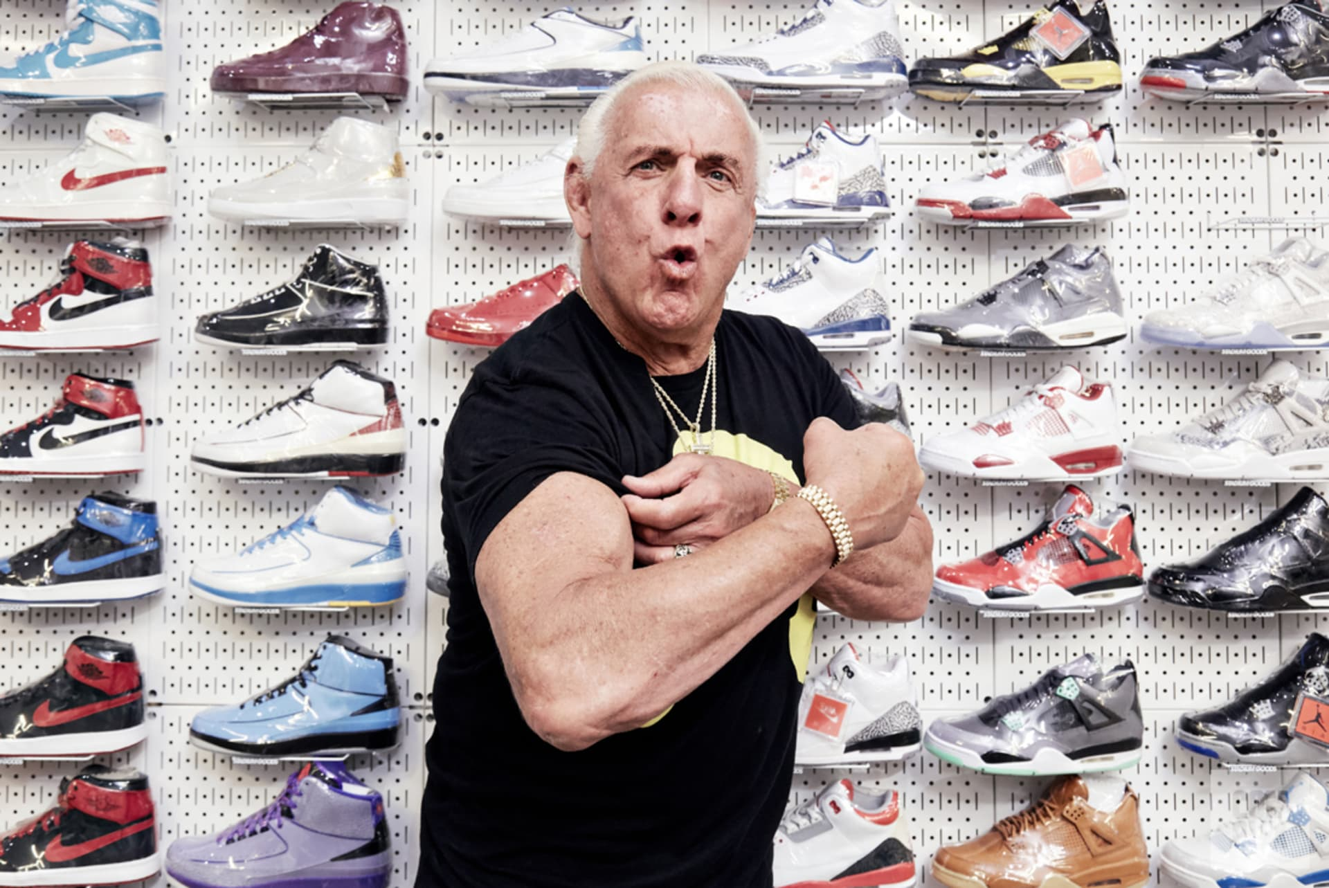 Ric Flair Sneaker Shopping Wide 1 Cabrera Original