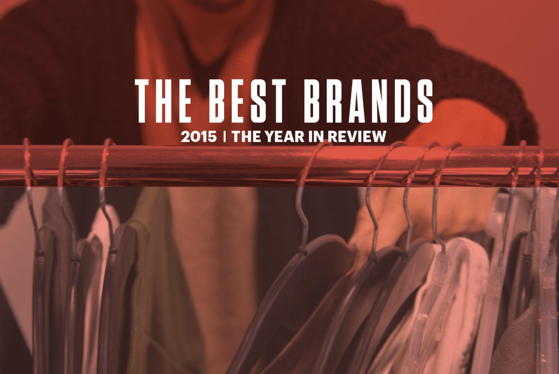 Best Men's Style Brands of 2015