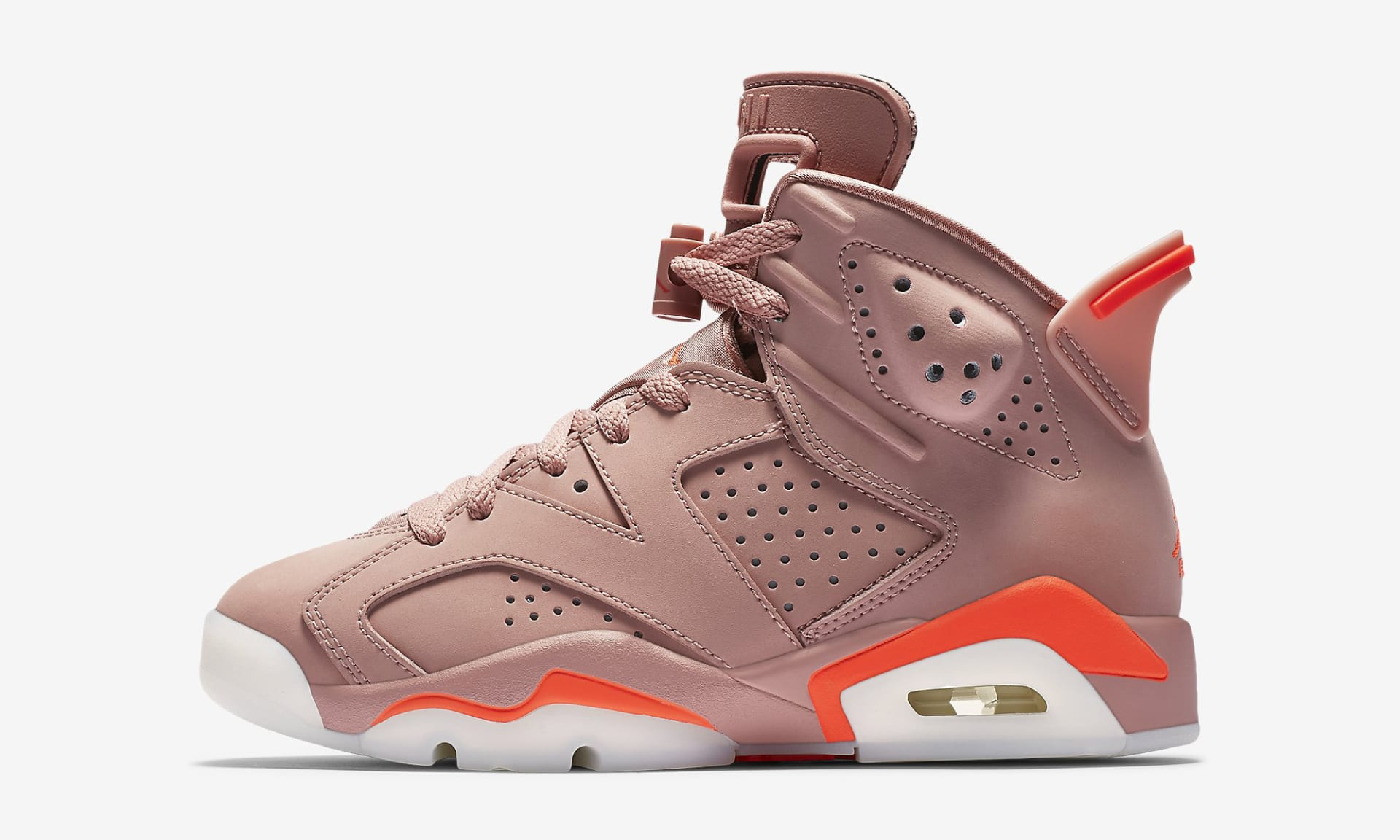 Aleali May Air Jordan 6 Millennial Pink