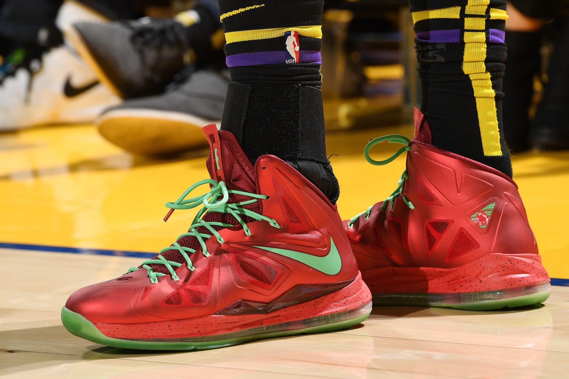 Lebron Christmas 10.Nba Christmas Shoes Best Sneakers Worn On Christmas Day