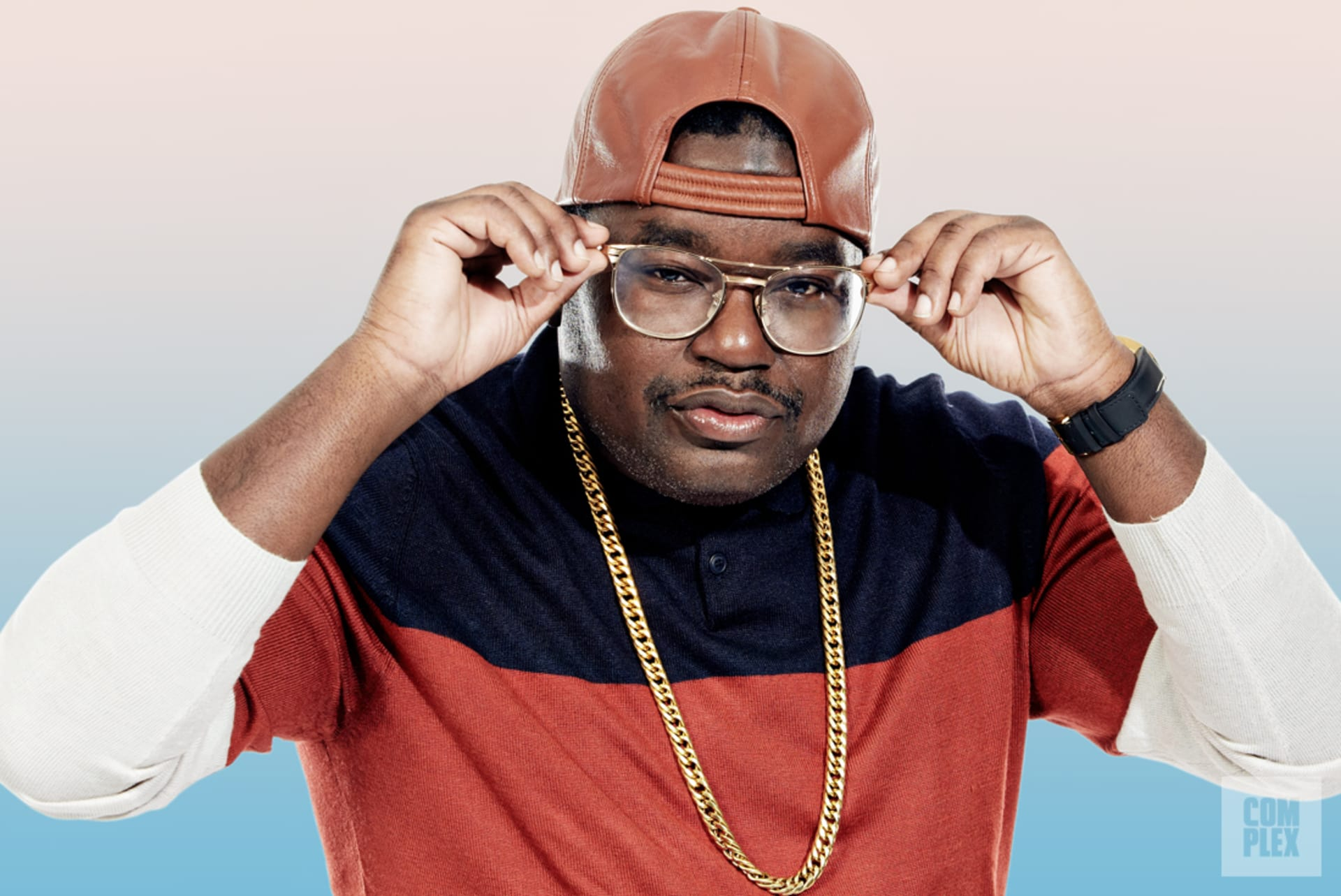 Lil Rel Howery Glasses
