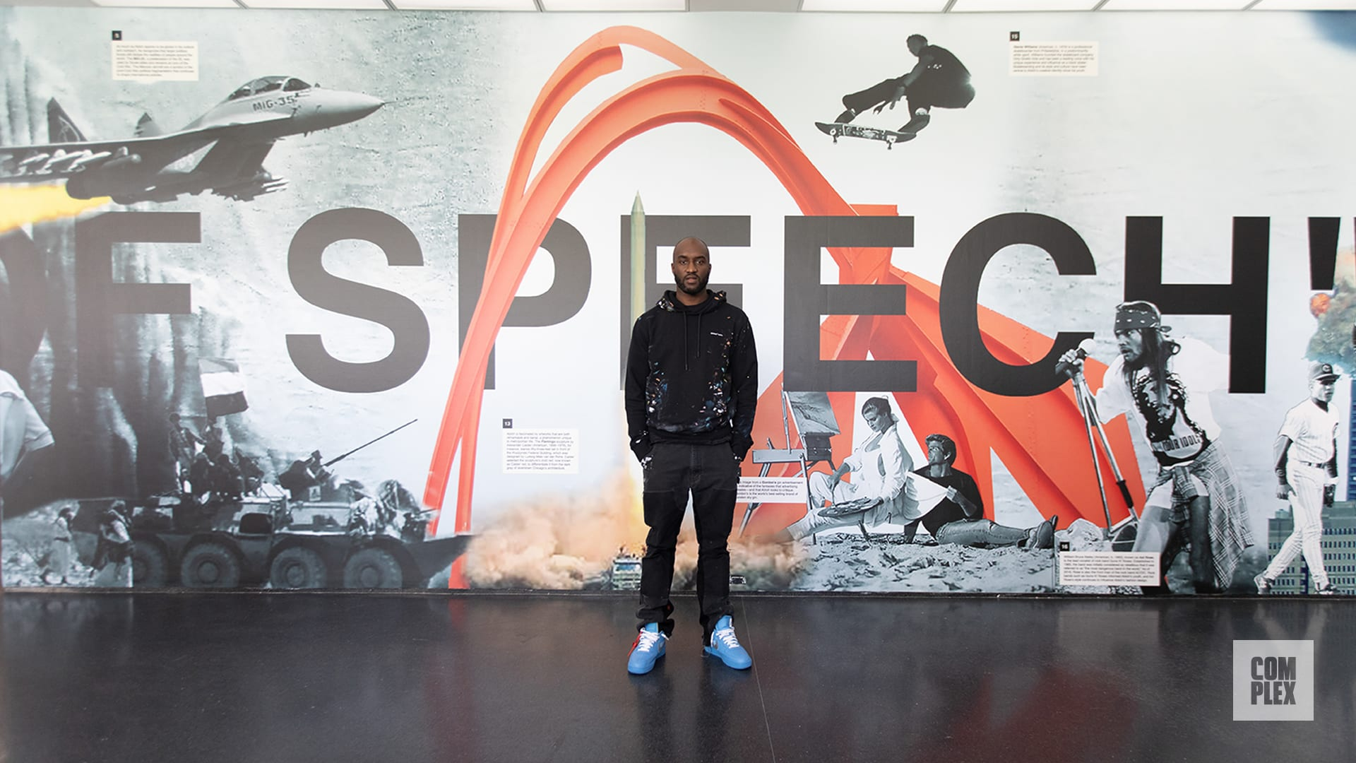 "Virgil Abloh ""Figures of Speech"" MCA Exhibition Interview"