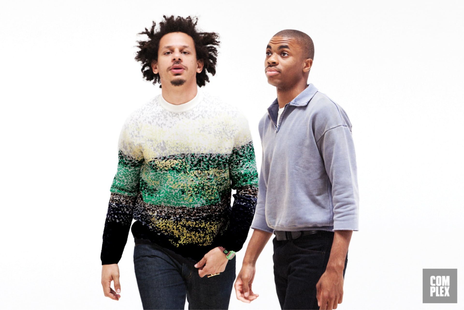 Eric André and Vince Staples