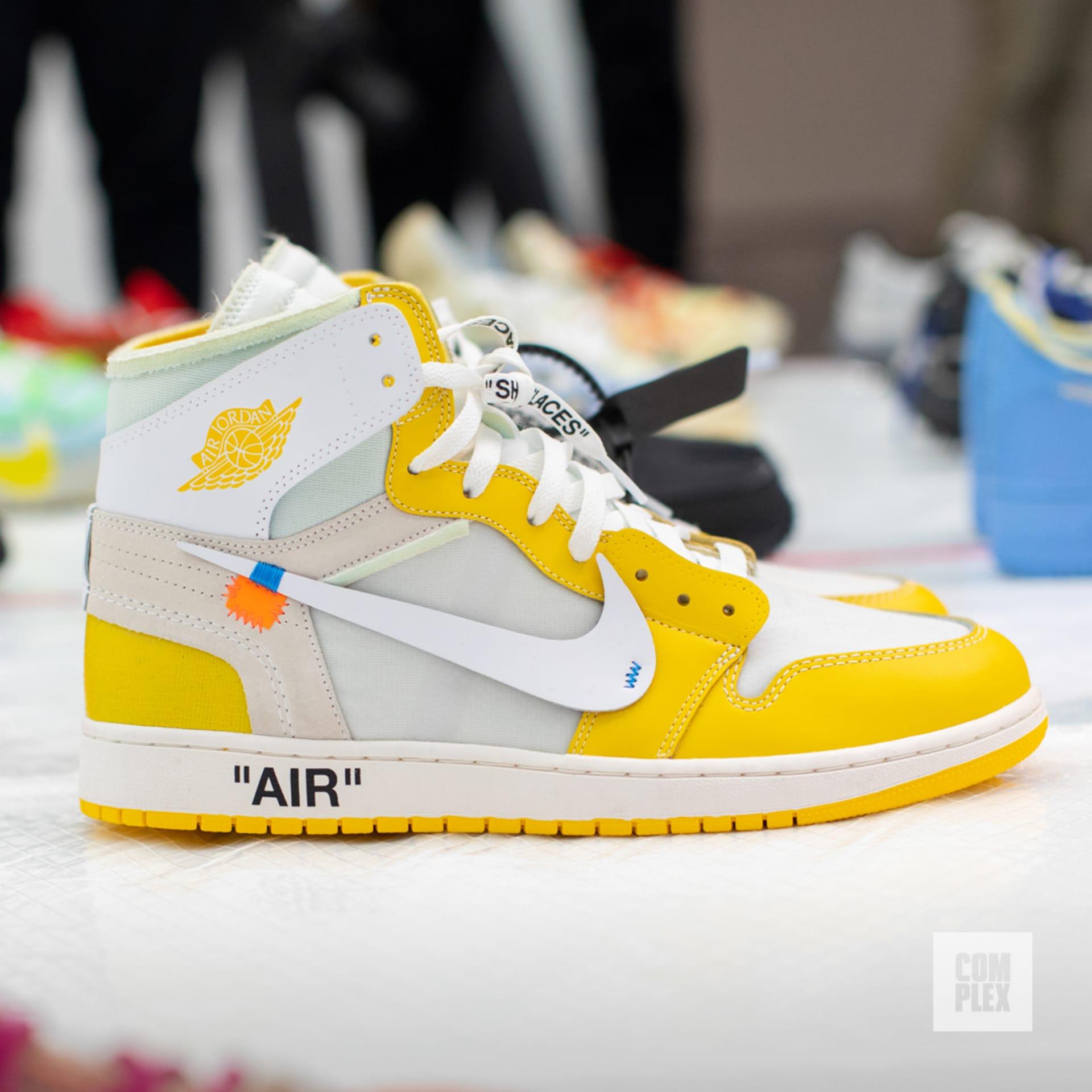 heiß Custom Off White x Air Jordan 1 Not For Resale Resell