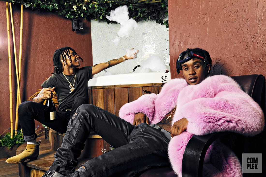 Rae Sremmurd Hot Tub Bubbles