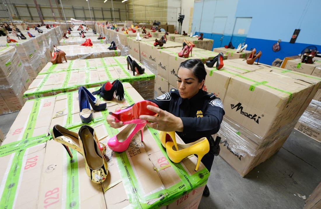 counterfeit heels
