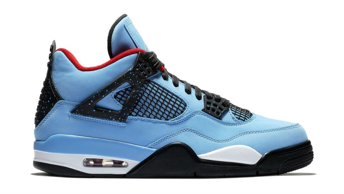 Travis Scott x Air Jordan 4 IV Oilers Release Date 308497-406