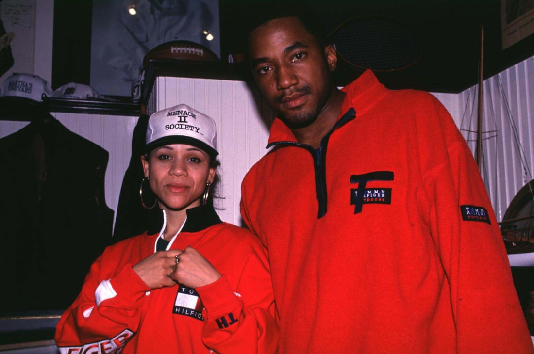 Q-Tip in Tommy Hilfiger