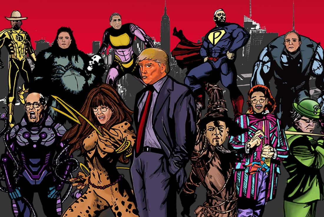 Meet Trump's Legion of Doom: A Look at the Terrifying ...
