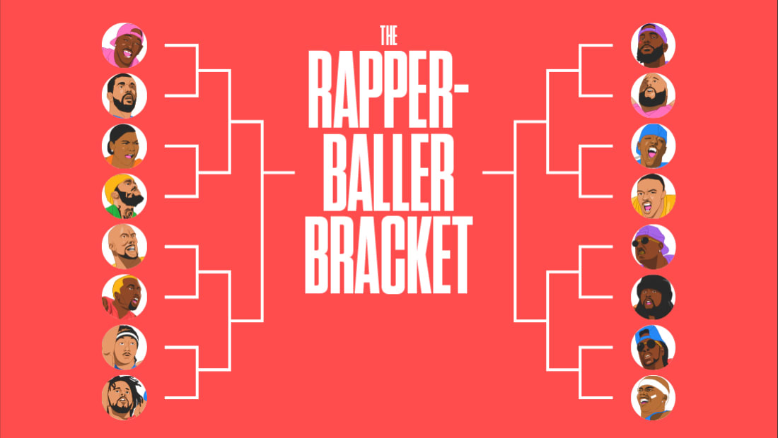 Rapper-Baller Bracket Home Page Image