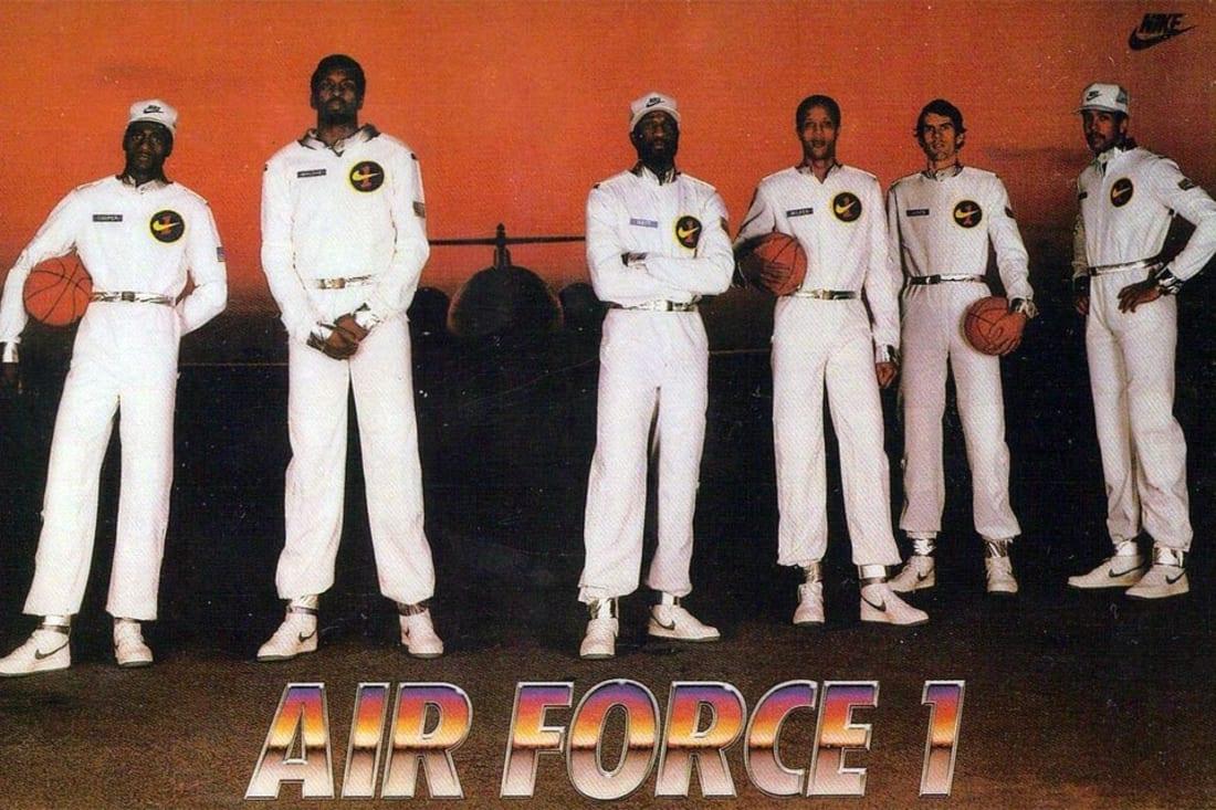 Nike Air Force 1 1982 Ad