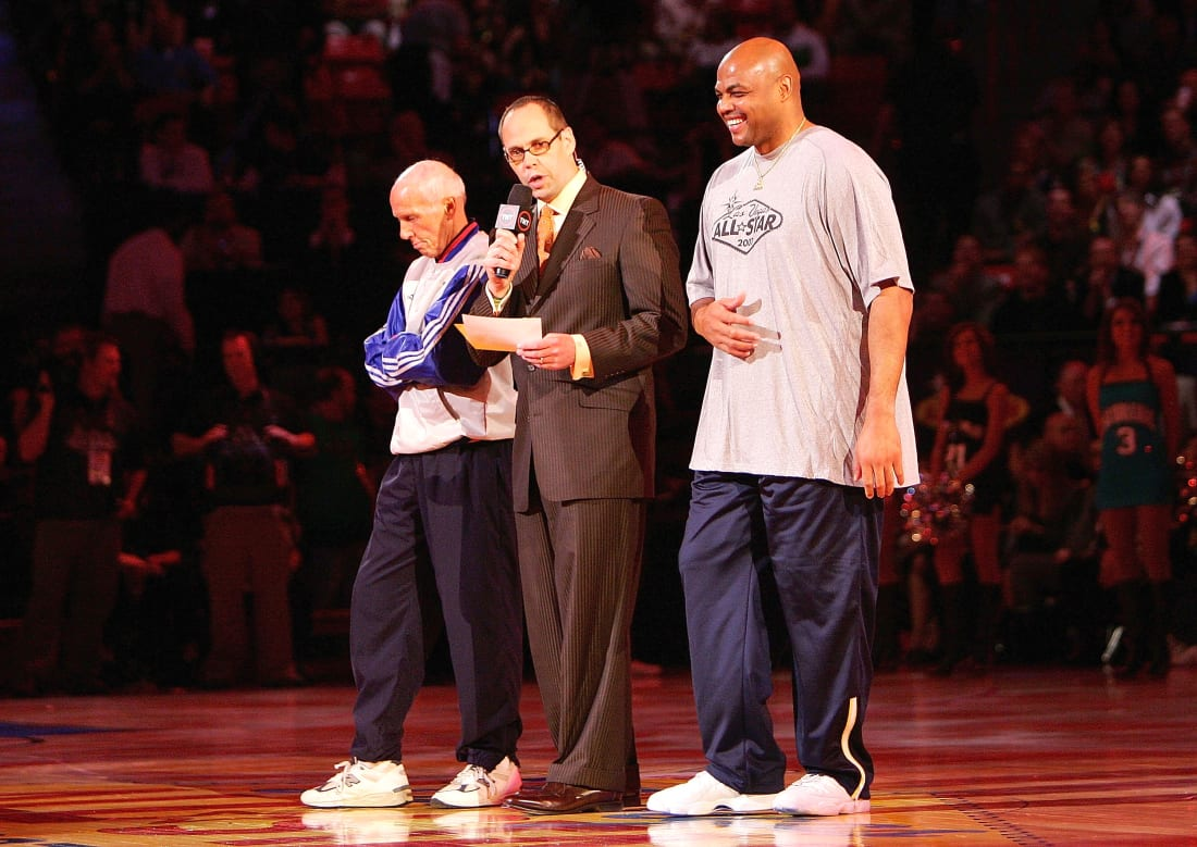 Dick Bavetta Ernie Johnson Charles Barkley 2007