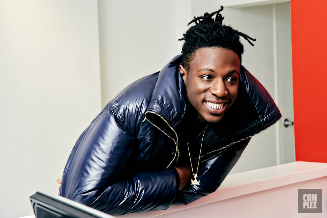 joey badass wants to be raps revolutionary star�but is
