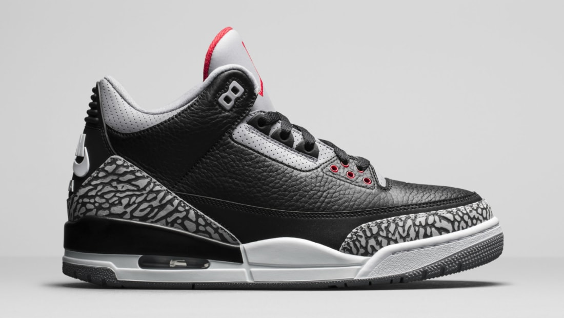 Air Jordan 3 III Black Cement Release Date 854262-001