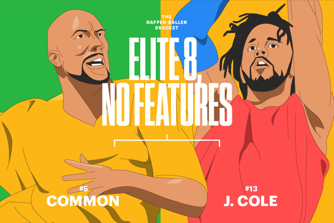 Common J Cole Rapper Baller Bracket Elite 8
