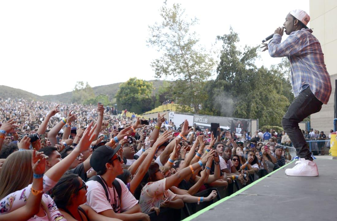 ASAP Rocky at Rock the Bells 2013