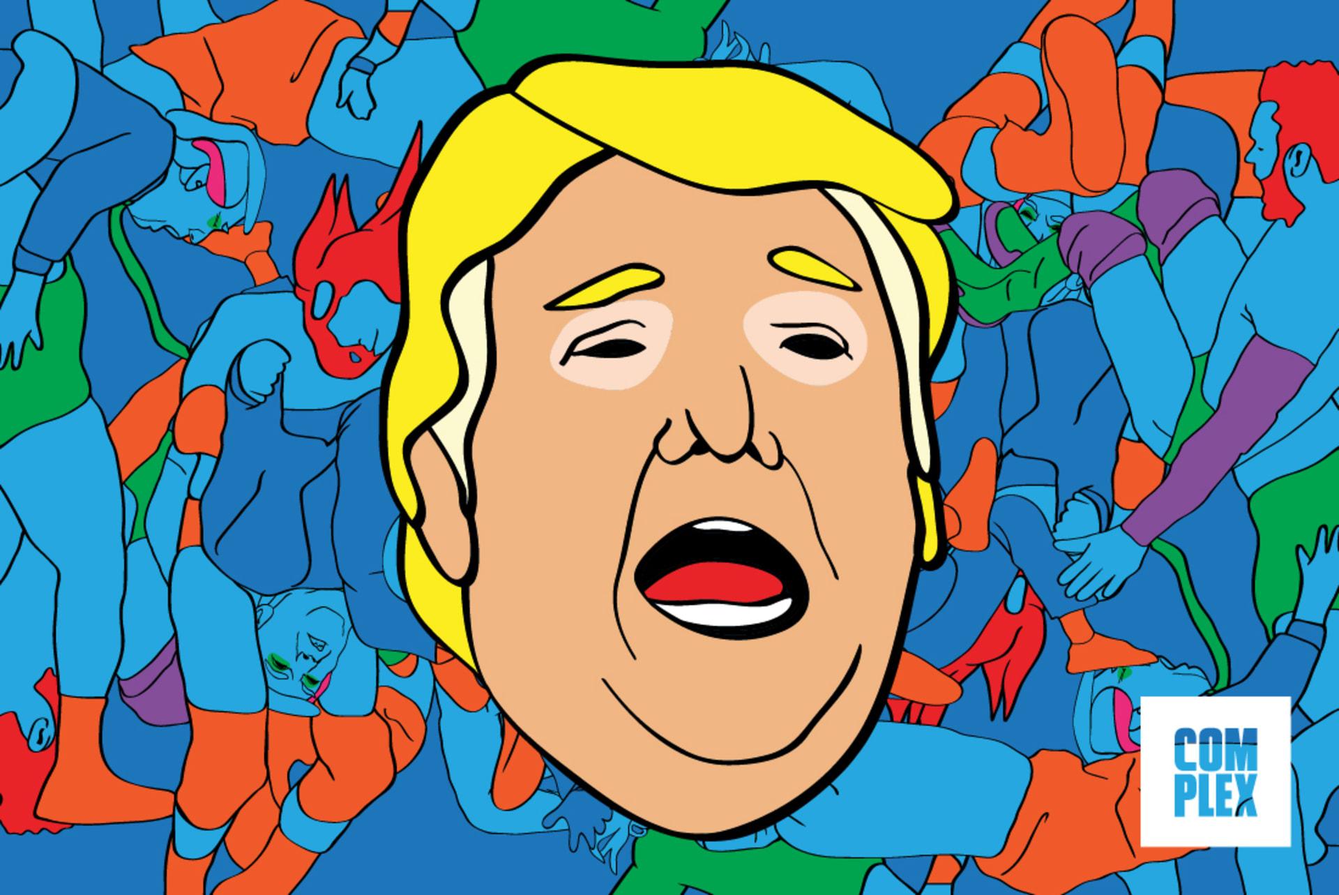 trump lead image wwe