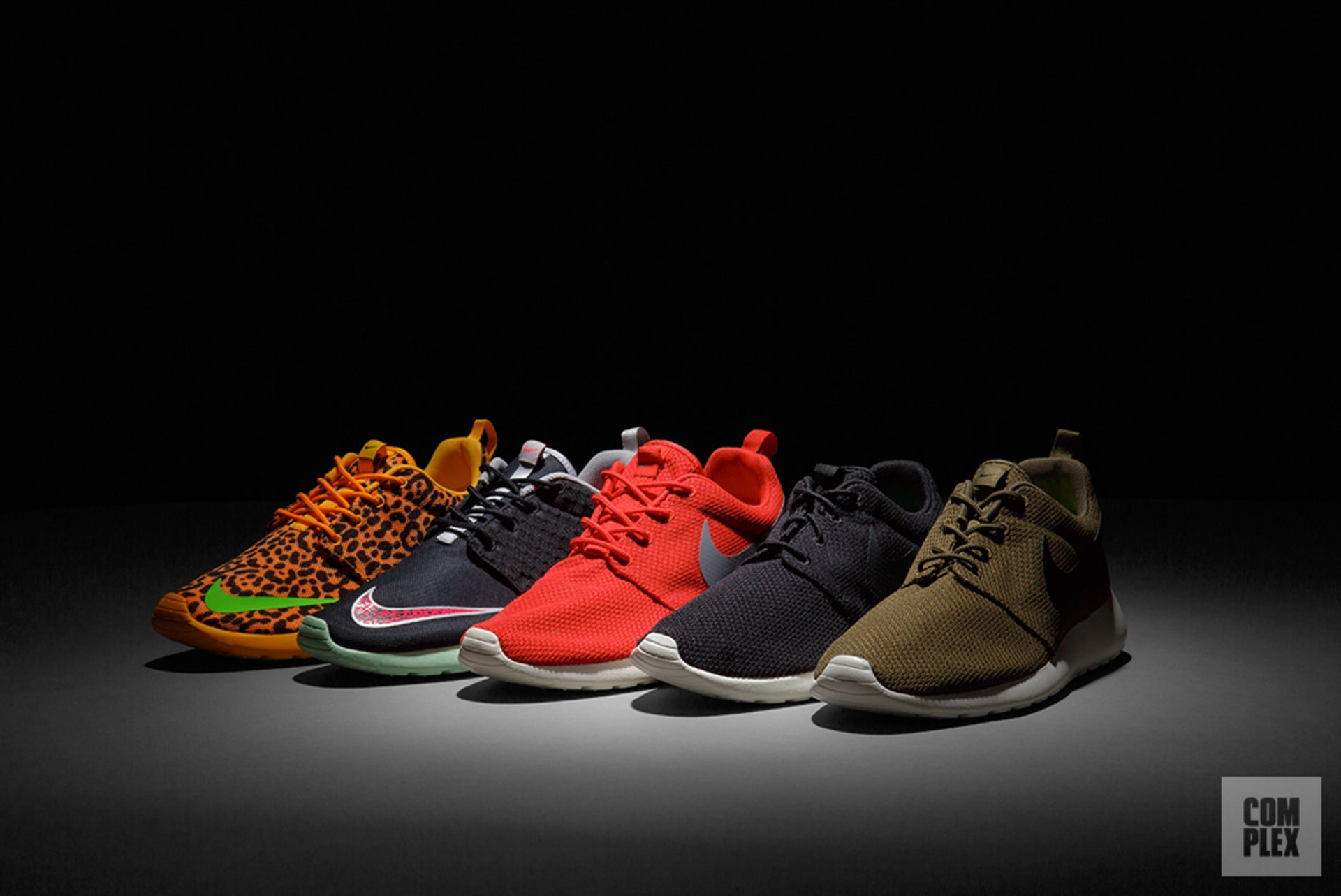 1ed8bb743f2d8 Roshe Run. Image via Complex Original. All sneakers courtesy of Stadium  Goods. The Nike ...