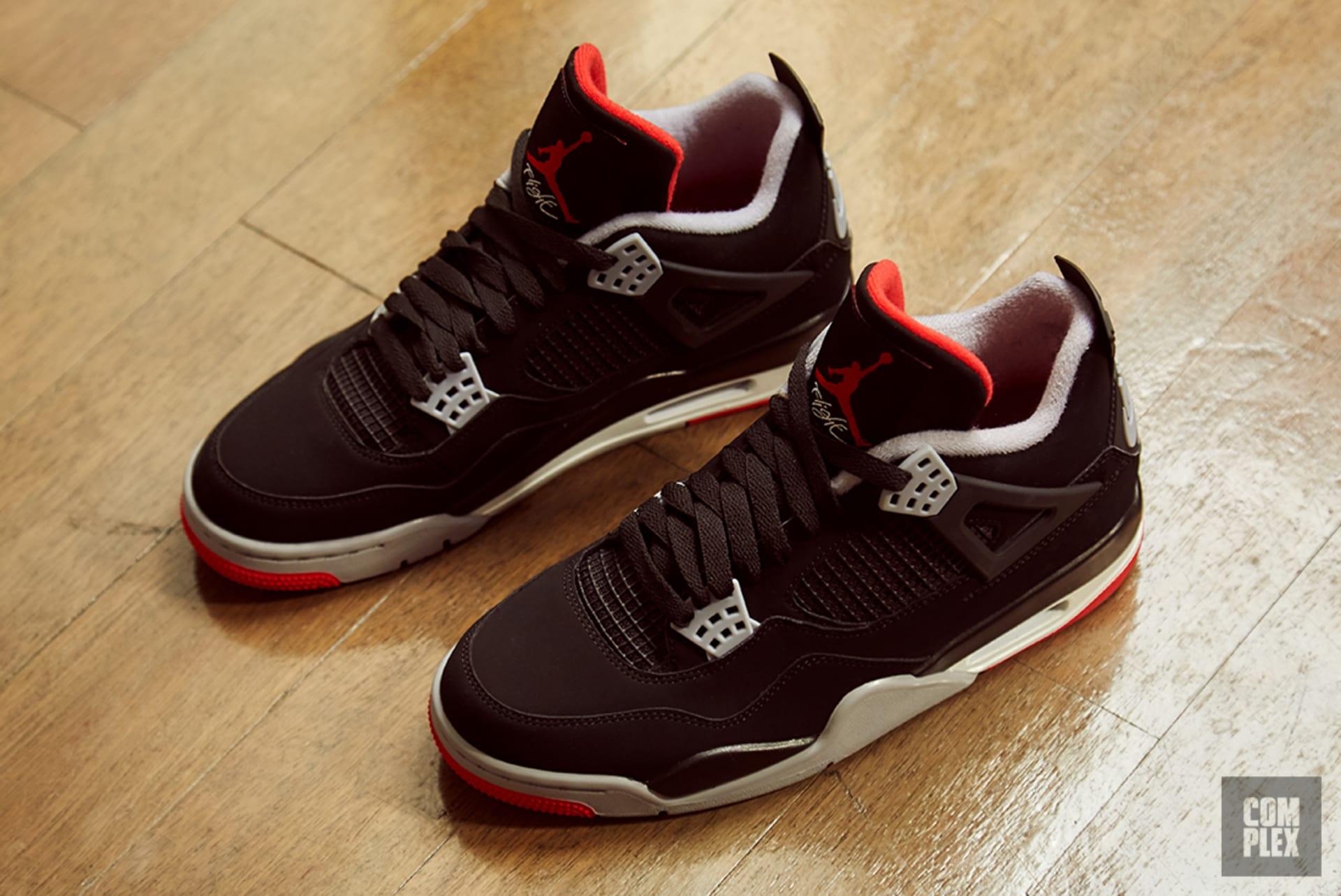 best sneakers 8b95e 5fb8e air-jordan-4-bred-2019