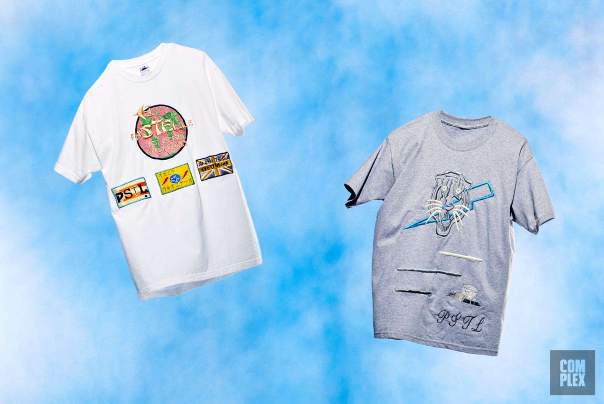 best website b4d8d e5b12 Samples of Pastelle graphic T-shirts