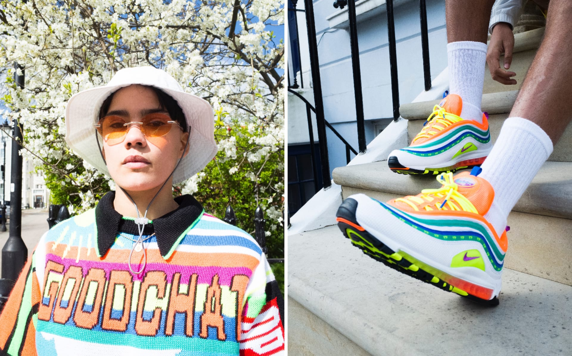buy popular 1b99d 16a82 Interview  Jasmine Lasode Breaks Down Her Award-Winning Nike Air Max 97  Design,  London Summer of Love