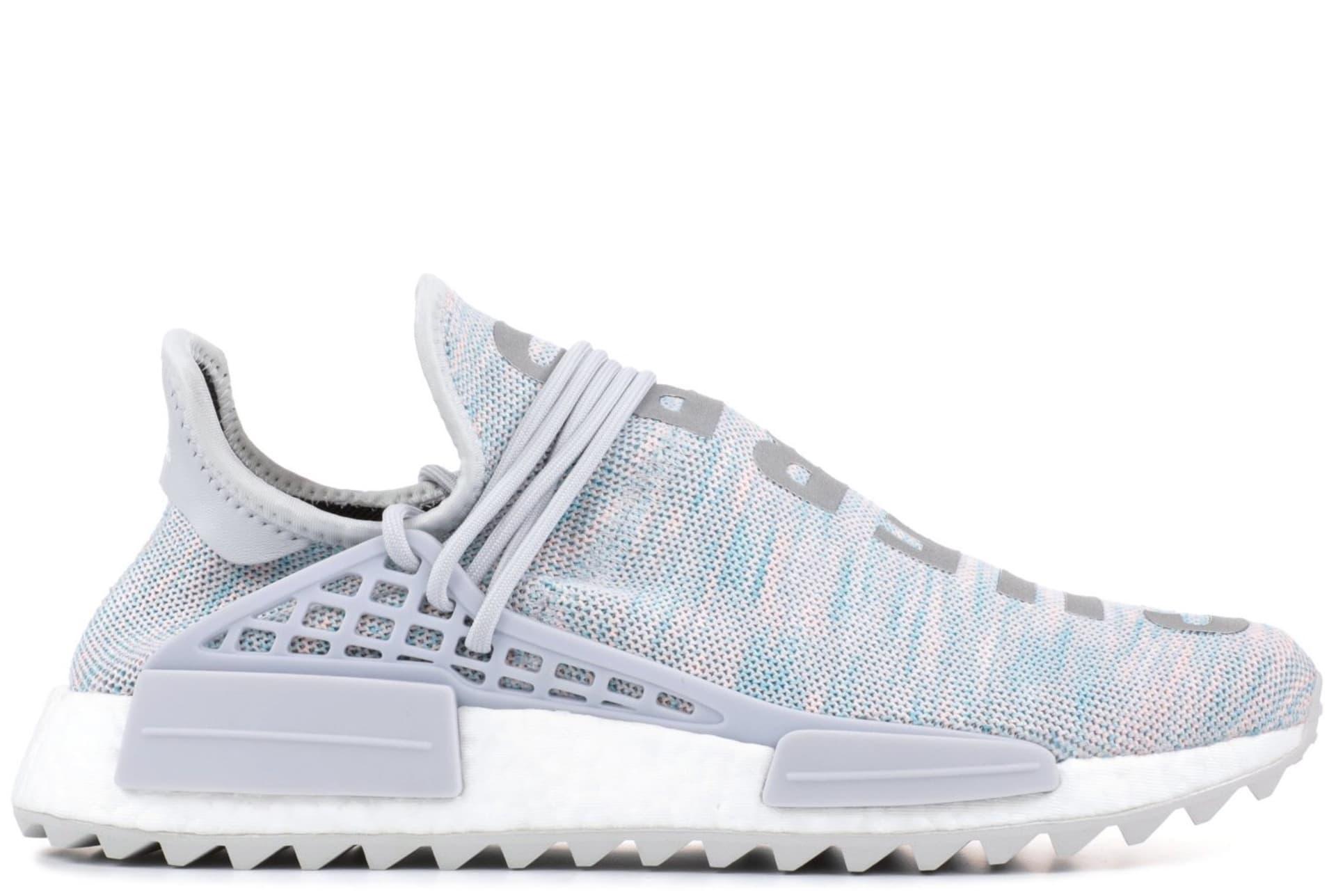 "24407cb072f68 Adidas Pharrell NMD Hu Race Trail ""Cotton Candy"""