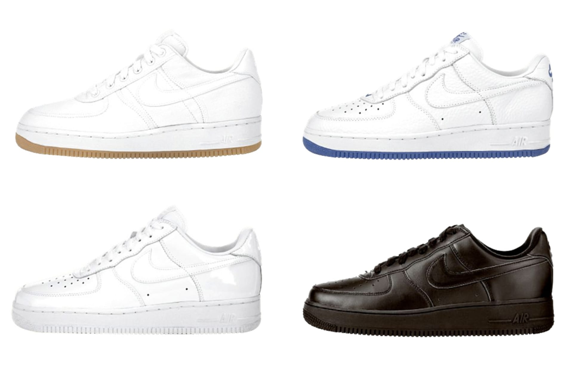 fc55980c510e3f The History of the White on White Air Force 1